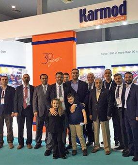 Karmod, καλωσόρισε τους επισκέπτες του από 123 χώρες στο MUSIAD EXPO 2016.