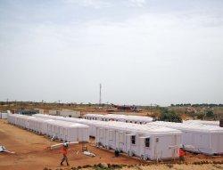 Εγκατάσταση καμπίνες αρθρωτής διαχείρισης που ολοκληρώθηκαν στη Σενεγάλη