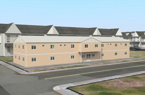 Αρθρωτό Κτήριο για Κοινωνική Εγκαταστάση  793 m²