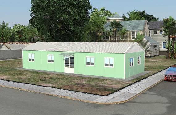 Αρθρωτό Κτίριο Γραφείων 106 m²