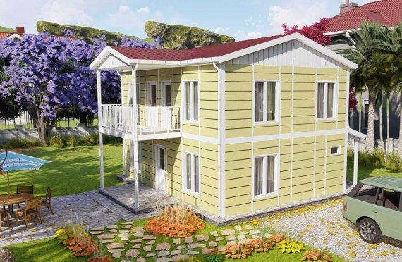 Προκατασκευασμένες Κατοικίες 128 μ2