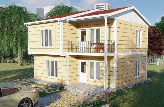 Προκατασκευασμένες Κατοικίες 137 μ2