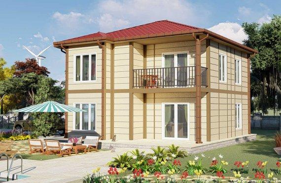 Προκατασκευασμένες Κατοικίες 138 μ2