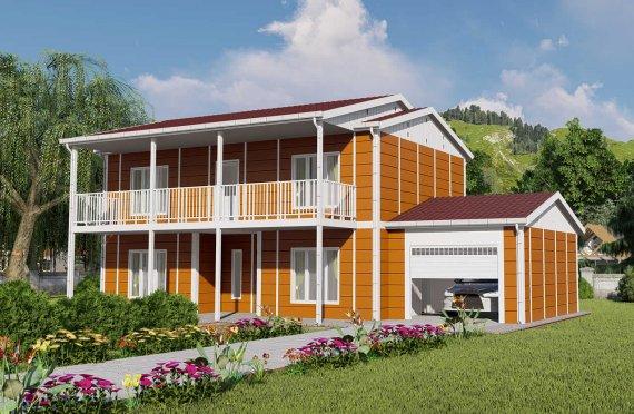 Προκατασκευασμένες Κατοικίες 196 μ2