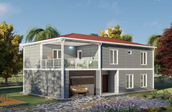 Προκατασκευασμένες Κατοικίες 206 μ2