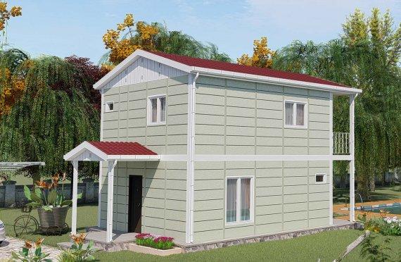Προκατασκευασμένες Κατοικίες 91 μ2
