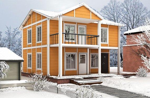 Προκατασκευασμένη κατοικία 112 m²