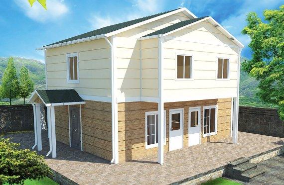 Προκατασκευασμένη κατοικία 114m²