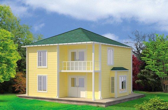 Προκατασκευασμένη κατοικία 124 m²