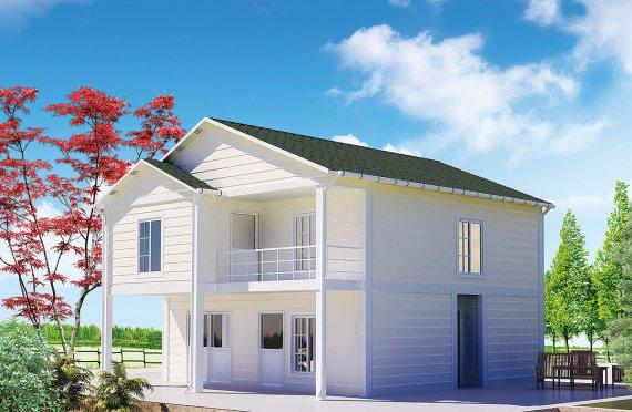 Προκατασκευασμένη κατοικία130 m²