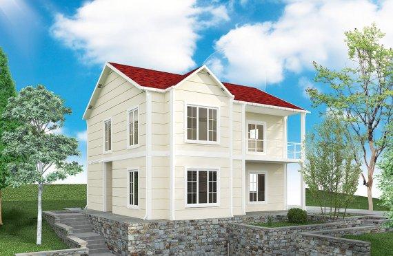 Προκατασκευασμένη κατοικία 132 m²