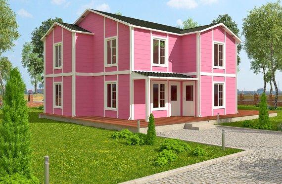 Προκατασκευασμένη κατοικία 147 m²