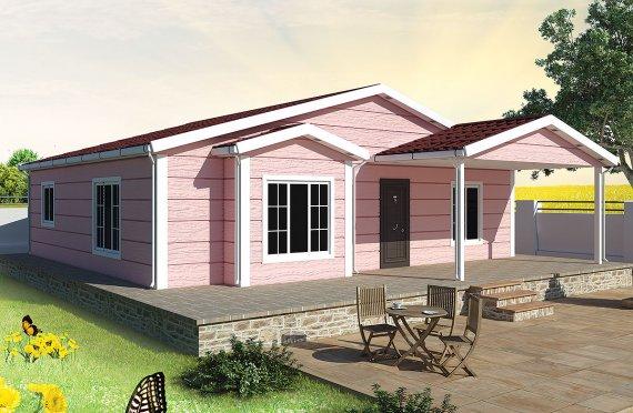 Προκατασκευασμένα Σπίτια 105m²
