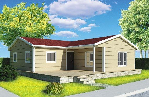 Προκατασκευασμένα Σπίτια 107m²