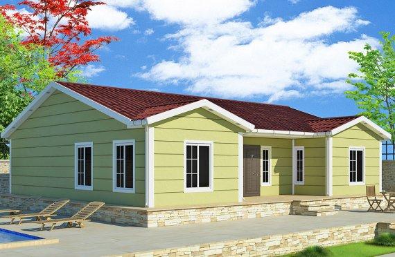 Προκατασκευασμένα Σπίτια 126 m²
