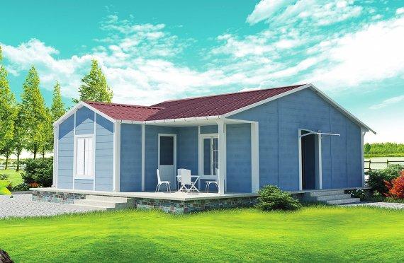 Προκατασκευασμένα Σπίτια 73 m²