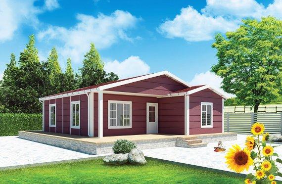 Προκατασκευασμένα Σπίτια 88 m²