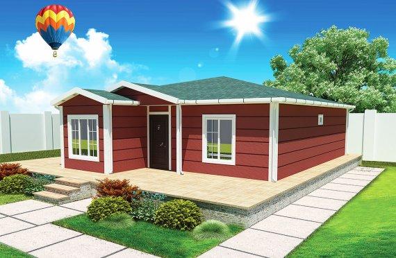 Προκατασκευασμένα Σπίτια 96 m²