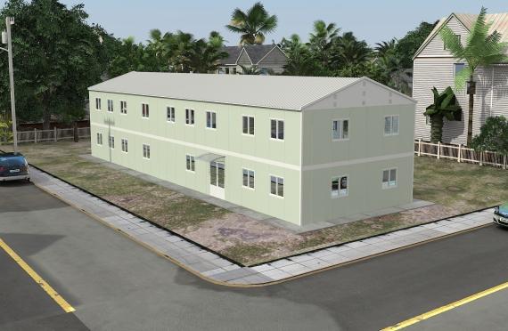 Μοντέρνο Κτίριο Γραφείων 463m²