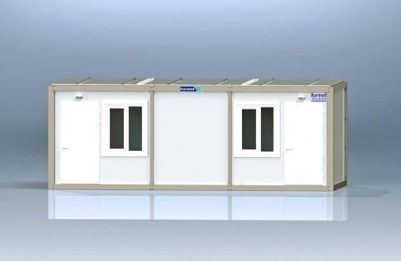 Κοντέινερ τύπου flat pack γραφείου K2001