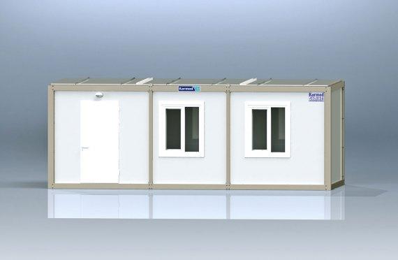 Κοντέινερ γραφείου τύπου flat pack  K1001