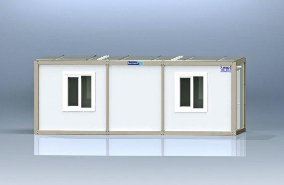 Κοντέινερ Γραφείου τύπου flat pack K1002