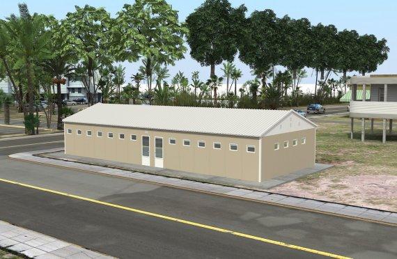 Προκατασκευασμένο WC & ντους 145 m²