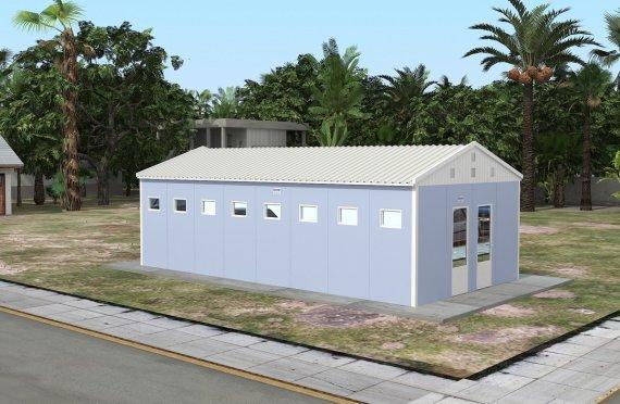Προκατασκευασμένο WC & ντουζ 52 m²