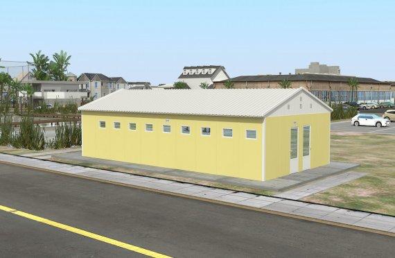 Προκατασκευασμένο WC & Ντους Κτίριο 82 m²