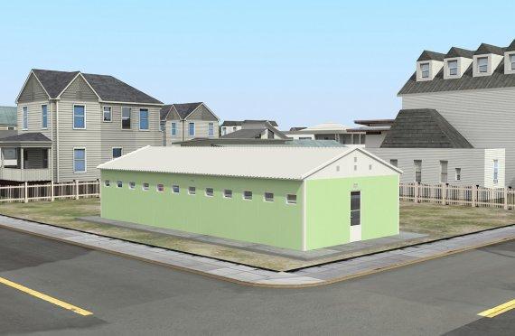 Προκατασκευασμένα WC & Ντους 97 m²