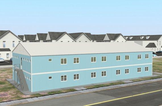 Προκατασκευασμένος Κοιτώνας 736 m²