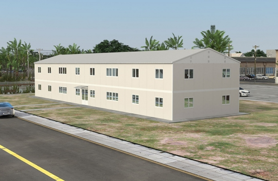 Αρθρωτώ κτίριο γραφείων 588 m²