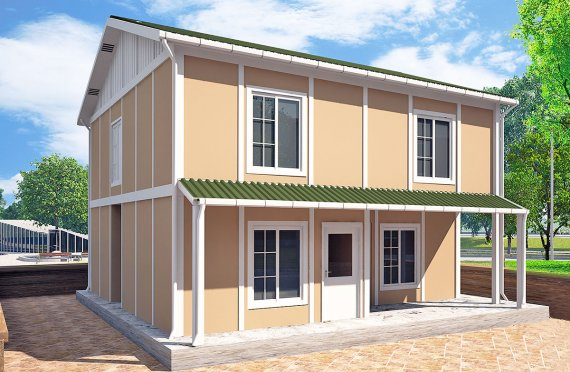 Προκατασκευασμένη κατοικία127 m²