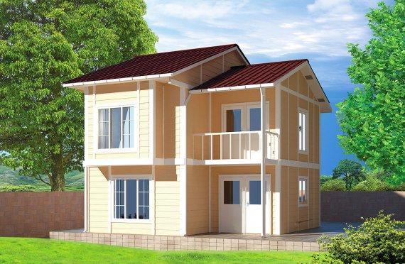 Προκατασκευασμένη κατοικία 91 m²