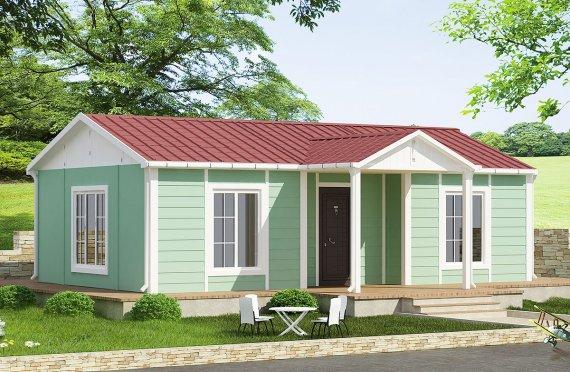 Προκατασκευασμένα Σπίτια 51 m²