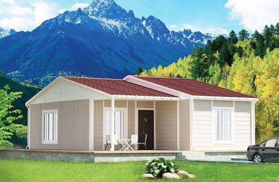 Προκατασκευασμένα Σπίτια 61 m²