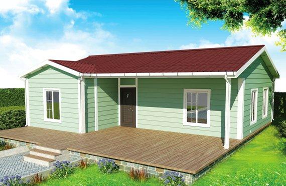 Προκατασκευασμένα Σπίτια 86 m²