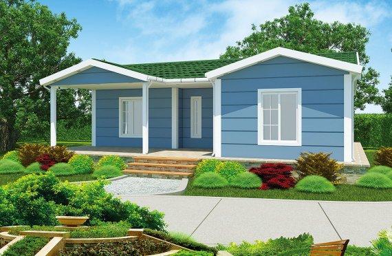 Προκατασκευασμένα Σπίτια 87 m²