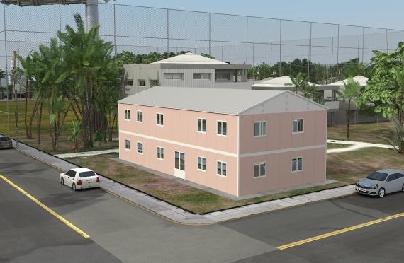 Μοντέρνο κτίριο γραφείων 340m²