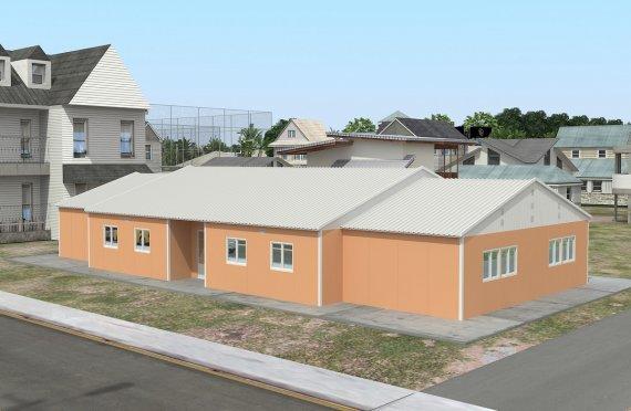 Φορητή Τάξη 272 m²
