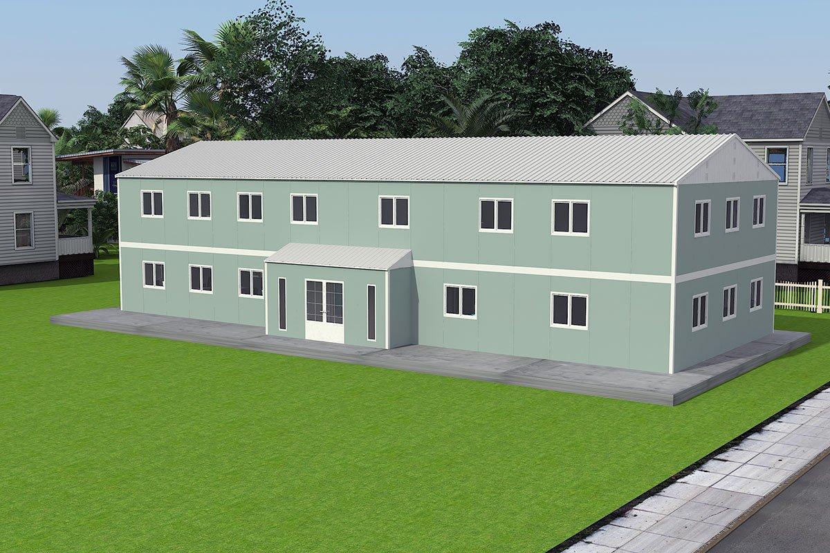 Αρθρωτό Κτίριο Γραφείων 415 m²