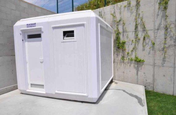 270x270 φορητή καμπίνα τουαλέτας και ντους