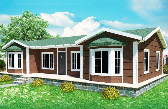Προκατασκευασμένα Σπίτια 97 m²