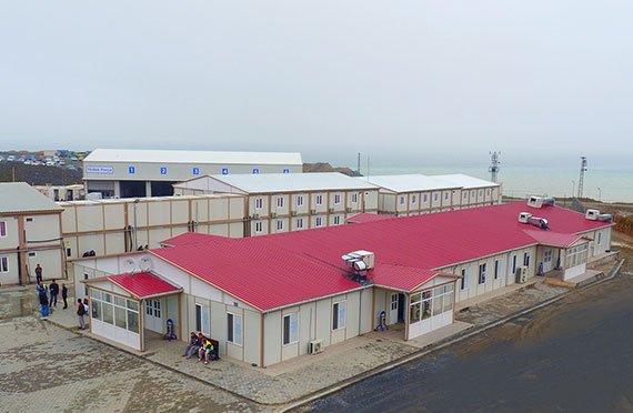 Αρθρωτά κτίρια εργοταξίου