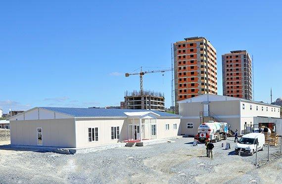 Προκατασκευασμένες κοινωνικές εγκαταστάσεις