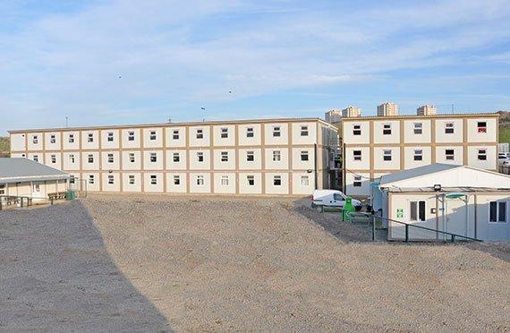 Εργοστάσια και Κοντέινερ Γραφείου