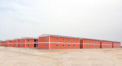 Η Karmod κατασκευάζει προκατασκευασμένη πόλη για 10.000 άτομα σε 7 μήνες