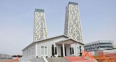 Το κτίριο γραφείων πωλήσεων και πληροφοριών Monumento στο Kartal έχει ολοκληρωθεί