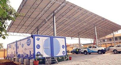Το κοντέινερ νέας γενιάς της Karmod χρησιμοποιείται για αποθήκευση ηλιακής ενέργειας στη Νιγηρία