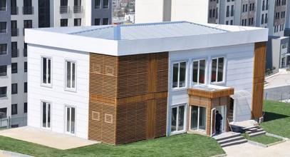 Πολυτελές Προκατασκευασμένο Γραφείο Πωλήσεων για το Bosphorus City Project